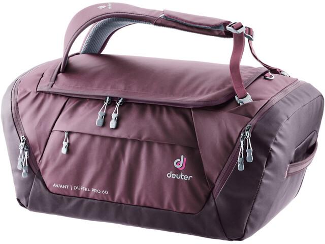 Deuter Aviant Duffel Pro 60, rosa/viola